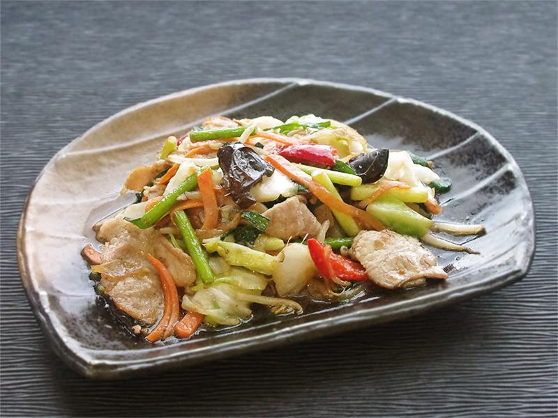 スタミナ肉野菜炒め