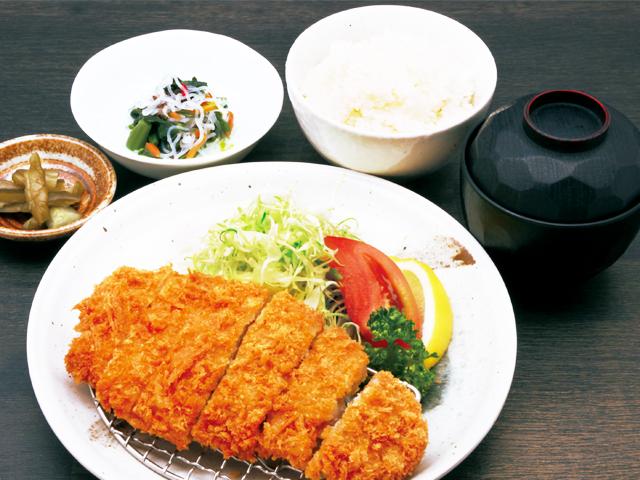 グランドメニュー・ロースかつ定食